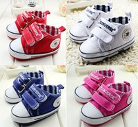 Wholesale 2015 solid double Velcro soft bottom casual boy toddler shoes years old newborn baby fall sports shoes pair CL