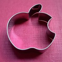apple cookie cutter - High Quality Christmas Decoration Cake Tools Stainless Steel Apple Of Type frozen Fondant Cut Out Candy Biscuit Cookie Cutters