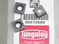 Wholesale 4PCS TUNGALOY MILLING INSERTS SDMB26152 GRADE AH120 SQUARE BLADE FOR MILLER OR CNC