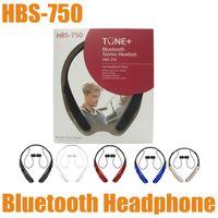 best bluetooth headsets - Best HBS HBS750 Bluetooth Headphone Wireless Stereo Headset Sports Neckband Earphone For HTC Samsung Galaxy LG EAR011
