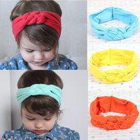 Wholesale Kids Girl Baby Toddler Lace Flower Headband Hair Band Accessories Headwear