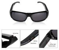 Mejor venta de 720p HD Camcorder Gafas Polarizadas Gafas de sol de la Cámara de Vídeo DVR Grabadora de Gafas de envío gratis
