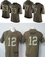 black 49ers jersey - ers Colin Kaepernick Navorro Bowman Green Salute To Service Limited Jersey Stitched on Number and Name