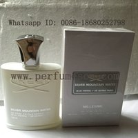 men cologne - Christmas perfume brand cologne Creed sliver mountain water for men cologne ml with long lasting time good smell