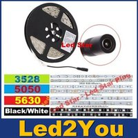 led light roll - NEW Style Led Strips Waterproof IP65 Led Rope Lights Roll m Cold Warm White V DC Female connectors