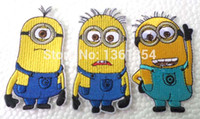 Wholesale HOT SALE Despicable Me the Minions kids iron on patches patches car Cloth Patch Sticker Decal for Clothes