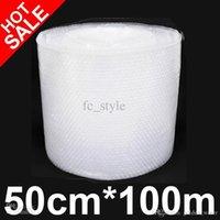 Wholesale Bubble Cushioning Wrap PE Bubble film transparent bubble film Cushioning Wrap cmX100m high quality low price