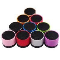 Wholesale S10 S11 MINI Speaker Portable Wireless Bluetooth Speaker Multi color Via DHL
