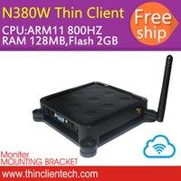 arm processor computer - Zero Client Mini Computer Windows CE Thin Client PC Station ARM Processor HZ RAM M FLASH GB WIFI Mbps