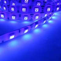 Wholesale Decoration Holiday Advertisement Purple Bulbs Uv Ultra Violet New m nm Leds m Led Strip Light Waterproof v a