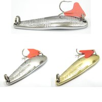 bass jig - Fishing Lure Spoon Lure Silver Gold Metal Lure Fresh Water Shallow Water Bass Walleye Crappie Minnow Fishing Tackle SP121