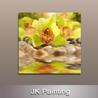 Cheap wall painting flower Best modern wall