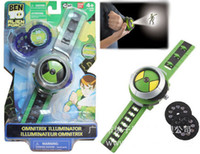 banned movies - 2015 Hot Selling Ben OMNITRIX ILLUMINATOR Projector Watch BAN DAI Toys For Kids Children Slide Show Watchband