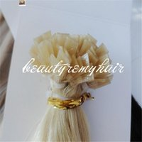 Cheap Beautyremyhair Indian Remy Hair Extension Flat Tip Hair Silky Straight Human Hair 8A Human Hair Products no tangle