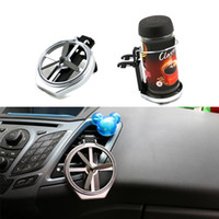 Wholesale Universal Car Truck Vehicle Air Outlet Folding Drinks Holders Bottle Cup Holder Stand MD049 order lt no tracking