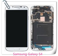 Wholesale OEM Samsung Galaxy S4 i9500 i9505 I545 I337 M919 L720 R970 LCD Display Touch Screen Digitizer Assembly Free DHL Shipping