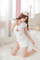 sexy nurse uniform - 2015 Sale Erotic Lingerie Set Bodystocking Sex Products Uniform Temptation Nurse Outfit Sexy Female Factory Direct