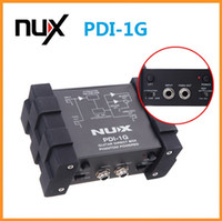 audio mixer effects - New Arrival NUX PDI G Guitar Direct Injection Phantom Power Box Audio Mixer Para Out Guitar Parts Accessories