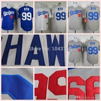 best jin - 2015 New Embroidery Best quality Hyun Jin Ryu Jersey Stitched Blue White Grey New arrival Hyun Jin Ryu Dodgers Baseball Jersey