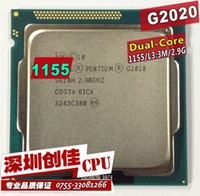 Wholesale for Intel Pentium G2020 Dual Core GHz Socket H2 LGA CPU Processor Tested working scattered pieces