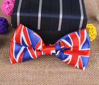 american flag candy - Bridegroom Suit Bow Ties Formal Commercial Bowtie American Flag Butterfiles for Men Candy Color Cravat CM Adult Unisex Bowties PS021