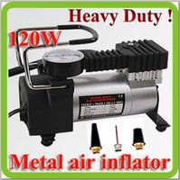Wholesale DC12V watt portable heavy duty car piston tyre inflator air compressor air pump for SUV off road vehicle