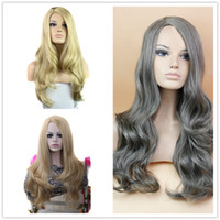 Cheap Women Synthetic Wigs Best Ombre Celebrity Curly Wig Cheap Wigs