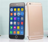 Wholesale Touch ID Goophone i6s Plus G LTE Octa Core GB RAM GB ROM Android Lollipop inch Fingerprint MP Camera S6 Smartphone