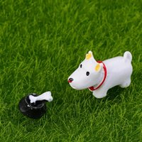 Wholesale Lovely Mini Dog Shape Garden Doll Landscape Decoration DIY Garden House Ornament