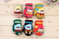 Wholesale 2016 New Fashion Children Gloves for Autumn Winter Cotton Kids Cute Lovely Warm Gloves