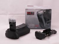 Wholesale MeiKe MK D BG E9 BG D Battery Grip for Canon EOS D LP E6 battery LC E6E