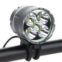 aluminum o ring - 5x XM L T6 IP65 LED Headlamp Aluminum Waterproof Lumens Bicycie Light with Switch Mode O Shaped Ring