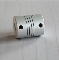Wholesale GM X24 mm CNC Aluminum Motor Coupling Elastic Coupling Servo Motor And Stepper Motor Wire Rod Encoder Coupling