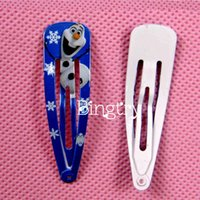 Wholesale Fashion new High Quality Frozen Hair Clips Girls Hair Accessories Clamps Hairpin Ornament BB Cc
