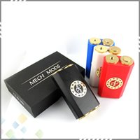 technology - Osmium Mech Box Mod Clone High quality Osmium Box Mod Latest Technology Box mod fit battery Colors DHL Free