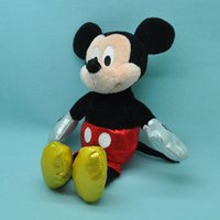 mickey mouse plush toy - Lovely GENUINE Mickey Mouse Figure Plush Stuffed Toy Doll for Kids best Christmas gift quot