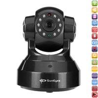 Cámara SunEyes SP-HM01WP 720P HD Wireless IP P2P Plug and Play Slot infrarrojos de visión nocturna pan / tilt dos vías de audio micro SD