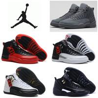 Wholesale Nike dan Retro Basketball Shoes Men Cheap Jordans XII Boots Original Sneakers AJ12 High Cut Men s Sport Shoes
