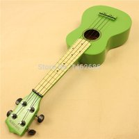 Wholesale 21 inch ukulele grass green light white small guitar fretboard send Accessories