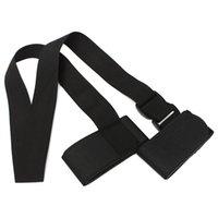 Wholesale Hot New Adjustable Ski Pole Shoulder Hand Carrier Lash Handle Straps Nylonbuckle