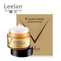 Cremas serpiente veneno Face Essence Lift Firming Mask cara cuidado de la piel anti-arrugas que blanquea la crema hidratante hidratante facial para adelgazar