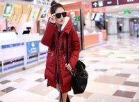 military equipment - New Korean military equipment thick down jacket ladies down jacket and long sections ZA008