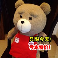 ted - 2015 New Product Ted bear doll plush cotton toy teddy birthday gift