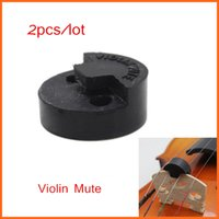 Wholesale Violin Practice Mute Professional Fiddle Silent Silencer Violin Parts Accessories
