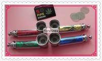 mix colors pocket parts - 240pcs Jamaica Mini Pocket Tobacco Herb metal Smoking Pipe parts metal screens LEAF RASTA Herbal Herb Tobacco metal pipes e cigar Rasta