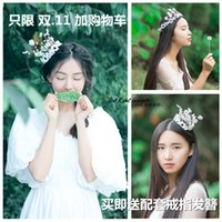 acting photos - 2016 new bride wreaths hand crown wreath beach wedding photo photo tire deserve to act the role of children corolla large of small