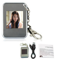 Wholesale by DHL or EMS pieces1 quot mini digital photo frame keychain photo album digital photo albums digital photo frame