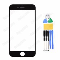 Cheap For iPhone 5S Front Screen Glass Replacement For iPhone 4 4S 5 5S 5C With Free Tools