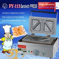 Wholesale 110v v Electric Sandwich Grill Toaster Press Maker Machine Baker