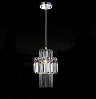 Wholesale Modern luxurious atmosphere Crystal Pendant Lights lamp bedroom lamp living room lamp restaurant hallway lights